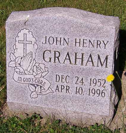 GRAHAM, JOHN HENRY - Stark County, Ohio   JOHN HENRY GRAHAM - Ohio Gravestone Photos