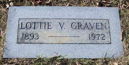 GRAVEN, LOTTIE V. - Stark County, Ohio | LOTTIE V. GRAVEN - Ohio Gravestone Photos