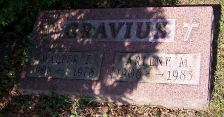 GRAVIUS, WALTER F. - Stark County, Ohio | WALTER F. GRAVIUS - Ohio Gravestone Photos