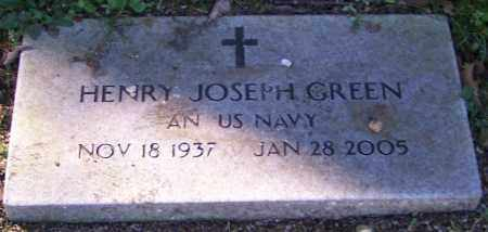 GREEN, HENRY JOSEPH - Stark County, Ohio | HENRY JOSEPH GREEN - Ohio Gravestone Photos