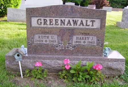 GREENAWALT, RUTH U. - Stark County, Ohio | RUTH U. GREENAWALT - Ohio Gravestone Photos