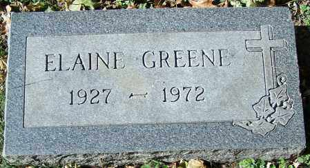 GREENE, ELAINE - Stark County, Ohio | ELAINE GREENE - Ohio Gravestone Photos