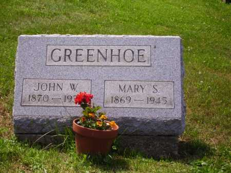 GREENHOE, MARY SEBINA - Stark County, Ohio | MARY SEBINA GREENHOE - Ohio Gravestone Photos