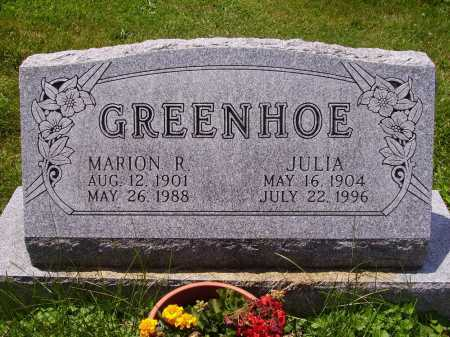 GREENHOE, MARION R. - Stark County, Ohio | MARION R. GREENHOE - Ohio Gravestone Photos