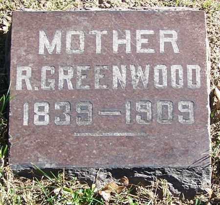 GREENWOOD, R. - Stark County, Ohio | R. GREENWOOD - Ohio Gravestone Photos