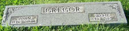 GREGOR, JOHN - Stark County, Ohio | JOHN GREGOR - Ohio Gravestone Photos