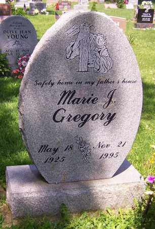GREGORY, MARIE J. - Stark County, Ohio | MARIE J. GREGORY - Ohio Gravestone Photos