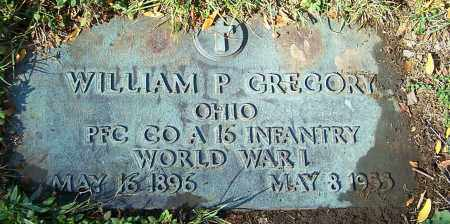GREGORY, WILLIAM P. - Stark County, Ohio | WILLIAM P. GREGORY - Ohio Gravestone Photos