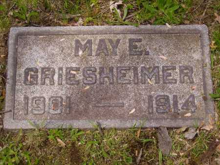 GRIESHEIMER, MAY E. - Stark County, Ohio | MAY E. GRIESHEIMER - Ohio Gravestone Photos