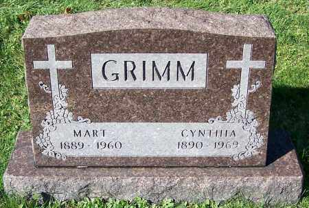 GRIMM, MART - Stark County, Ohio | MART GRIMM - Ohio Gravestone Photos