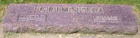 GRIMSLEY, DANIEL D. - Stark County, Ohio | DANIEL D. GRIMSLEY - Ohio Gravestone Photos
