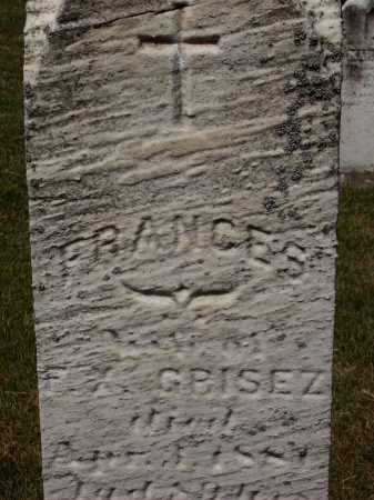 GRISEZ, FRANCES - Stark County, Ohio | FRANCES GRISEZ - Ohio Gravestone Photos