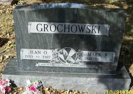 GROCHOWSKI, JEAN O. - Stark County, Ohio | JEAN O. GROCHOWSKI - Ohio Gravestone Photos