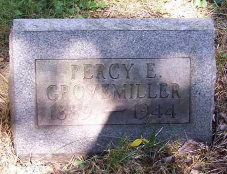 GROVEMILLER, PERCY E. - Stark County, Ohio | PERCY E. GROVEMILLER - Ohio Gravestone Photos