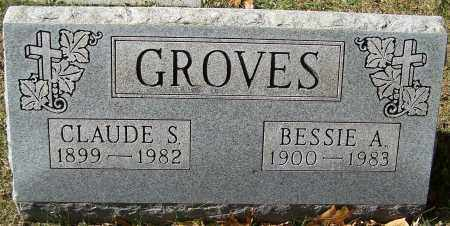 GROVES, CLAUDE S. - Stark County, Ohio | CLAUDE S. GROVES - Ohio Gravestone Photos