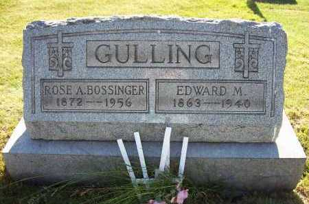 GULLING, EDWARD M. - Stark County, Ohio | EDWARD M. GULLING - Ohio Gravestone Photos