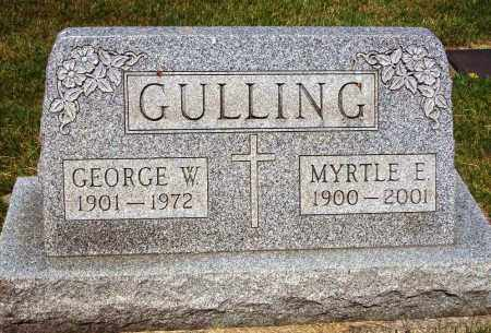 GULLING, GEORGE W. - Stark County, Ohio | GEORGE W. GULLING - Ohio Gravestone Photos