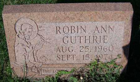 GUTHRIE, ROBIN ANN - Stark County, Ohio | ROBIN ANN GUTHRIE - Ohio Gravestone Photos