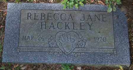 HACKLEY, REBECCA JANE - Stark County, Ohio | REBECCA JANE HACKLEY - Ohio Gravestone Photos