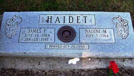HAIDET, JAMES P - Stark County, Ohio | JAMES P HAIDET - Ohio Gravestone Photos