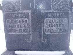 HAIDET, NICHOLAS - Stark County, Ohio | NICHOLAS HAIDET - Ohio Gravestone Photos