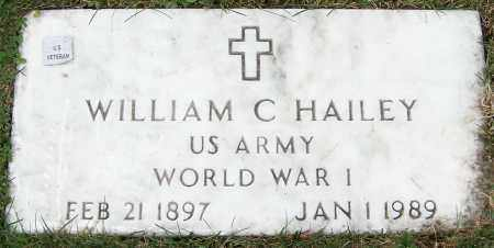 HAILEY, WILLIAM C. - Stark County, Ohio | WILLIAM C. HAILEY - Ohio Gravestone Photos