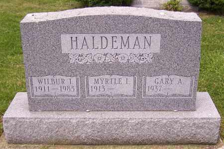 HALDEMAN, GARY A. - Stark County, Ohio | GARY A. HALDEMAN - Ohio Gravestone Photos