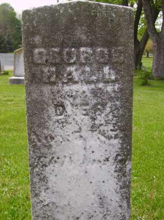HALL, GEORGE - Stark County, Ohio | GEORGE HALL - Ohio Gravestone Photos