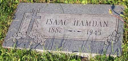 HAMDAN, ISAAC - Stark County, Ohio | ISAAC HAMDAN - Ohio Gravestone Photos