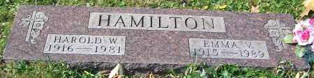 HAMILTON, HAROLD W. - Stark County, Ohio | HAROLD W. HAMILTON - Ohio Gravestone Photos