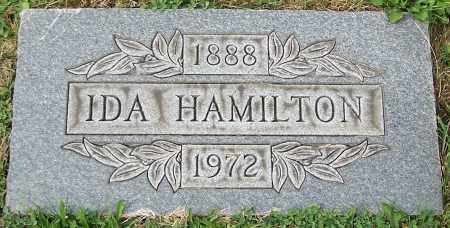 HAMILTON, IDA - Stark County, Ohio | IDA HAMILTON - Ohio Gravestone Photos