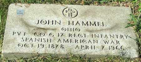 HAMMEL, JOHN - Stark County, Ohio | JOHN HAMMEL - Ohio Gravestone Photos