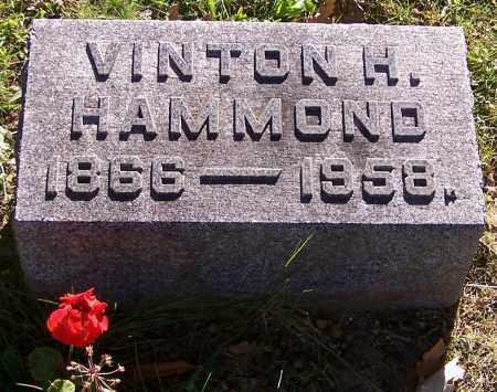 HAMMOND, VINTON H. - Stark County, Ohio | VINTON H. HAMMOND - Ohio Gravestone Photos