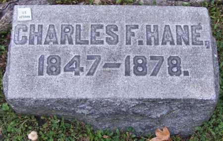 HANE, CHARLES F. - Stark County, Ohio | CHARLES F. HANE - Ohio Gravestone Photos
