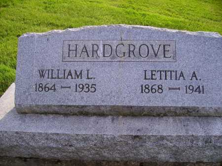 HARDGROVE, LETITIA A. - Stark County, Ohio | LETITIA A. HARDGROVE - Ohio Gravestone Photos