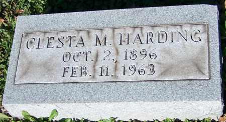 HARDING, CLESTA M. - Stark County, Ohio | CLESTA M. HARDING - Ohio Gravestone Photos