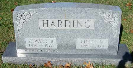 HARDING, EDWARD R. - Stark County, Ohio | EDWARD R. HARDING - Ohio Gravestone Photos