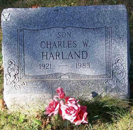 HARLAND, CHARLES W. - Stark County, Ohio | CHARLES W. HARLAND - Ohio Gravestone Photos