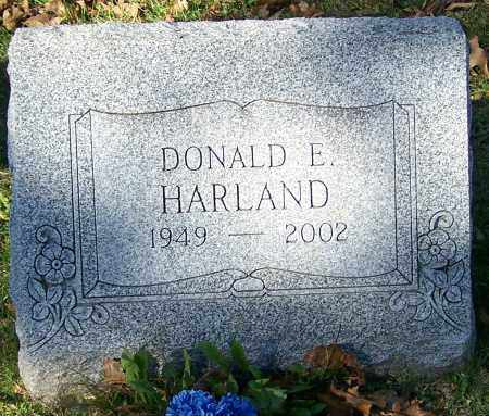 HARLAND, DONALD E. - Stark County, Ohio | DONALD E. HARLAND - Ohio Gravestone Photos