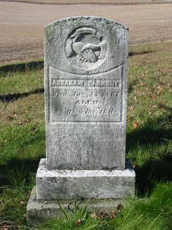 HARMONY, ABRAHAM - Stark County, Ohio | ABRAHAM HARMONY - Ohio Gravestone Photos