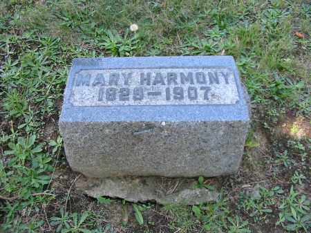 HARMONY, MARY - Stark County, Ohio | MARY HARMONY - Ohio Gravestone Photos