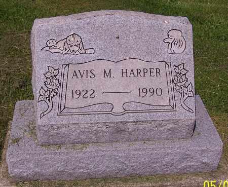 HARPER, AVIS M. - Stark County, Ohio | AVIS M. HARPER - Ohio Gravestone Photos