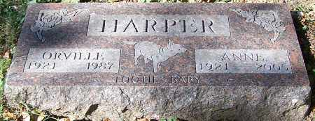 HARPER, ANNE - Stark County, Ohio | ANNE HARPER - Ohio Gravestone Photos