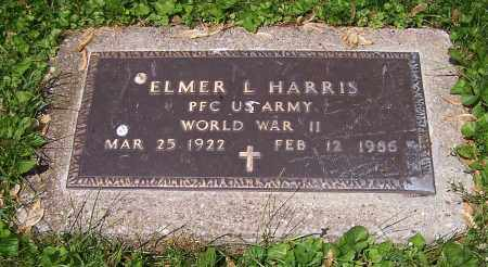 HARRIS, ELMER L. - Stark County, Ohio | ELMER L. HARRIS - Ohio Gravestone Photos