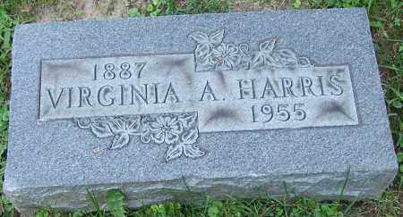 HARRIS, VIRGINIA A. - Stark County, Ohio | VIRGINIA A. HARRIS - Ohio Gravestone Photos