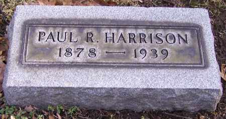 HARRISON, PAUL R. - Stark County, Ohio | PAUL R. HARRISON - Ohio Gravestone Photos