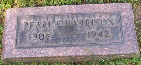 HARRISON, PEARL E. - Stark County, Ohio | PEARL E. HARRISON - Ohio Gravestone Photos