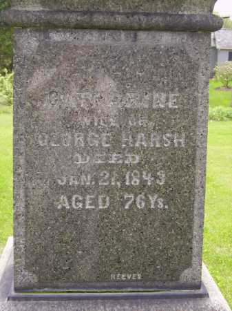 HARSH, CATHERINE - Stark County, Ohio | CATHERINE HARSH - Ohio Gravestone Photos
