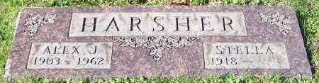 HARSHER, ALEX J. - Stark County, Ohio | ALEX J. HARSHER - Ohio Gravestone Photos