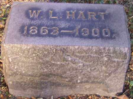 HART, W.L. - Stark County, Ohio | W.L. HART - Ohio Gravestone Photos